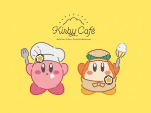 Kirby Cafe in Tokyo, Japan