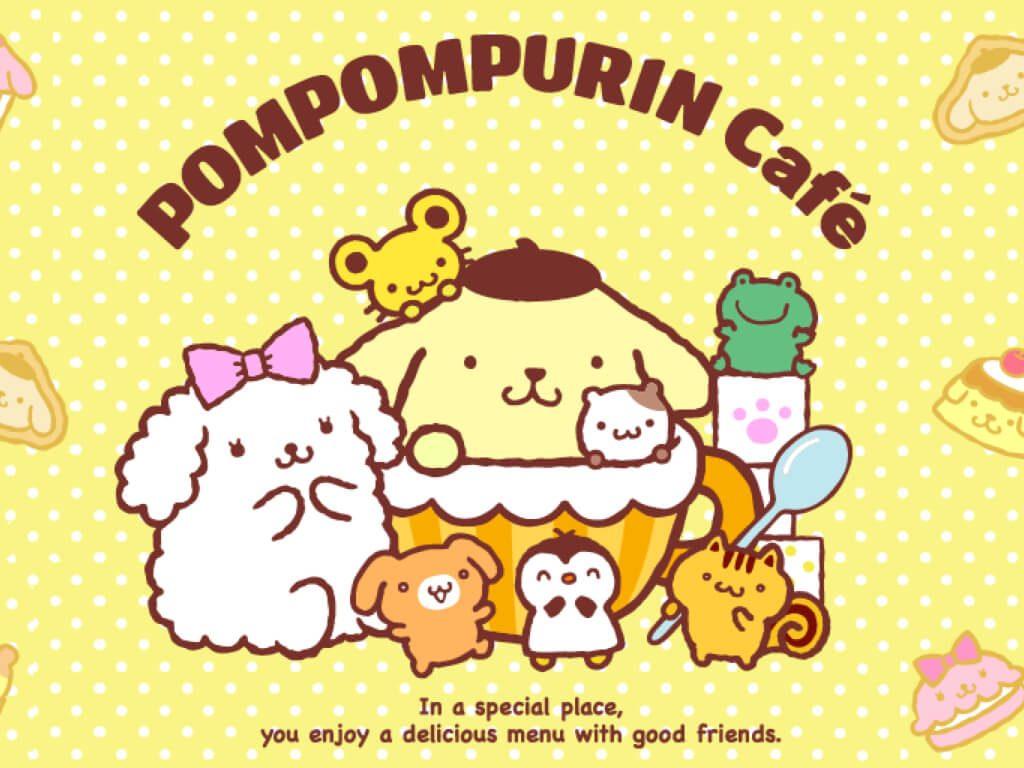 Pompom Purin Cafe at Harajuku, Japan