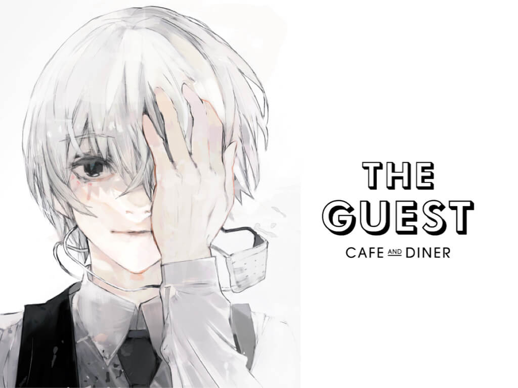 Tokyo Ghoul RE:Cafe at The Guest in Ikebukuro PARCO