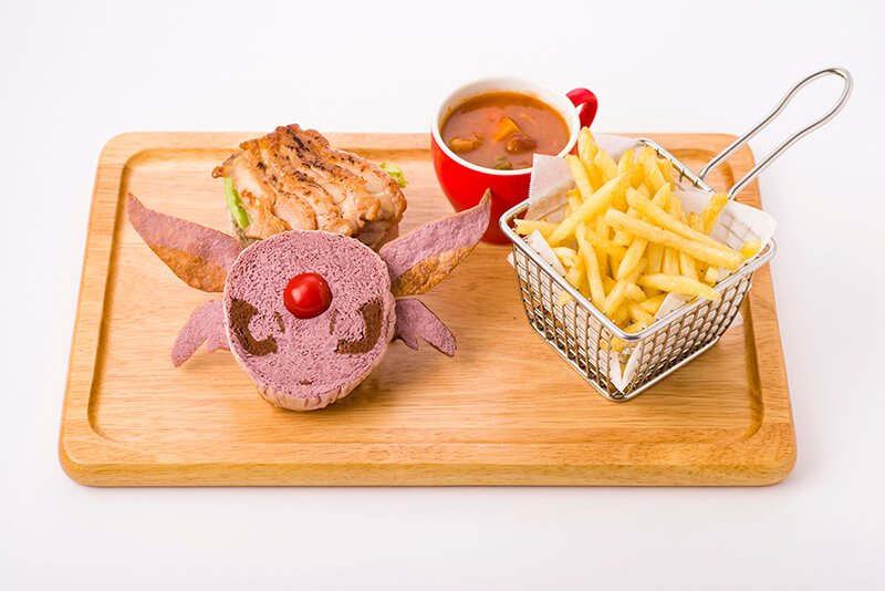 Espeon Teriyaki Chicken Burger 1,598 yen