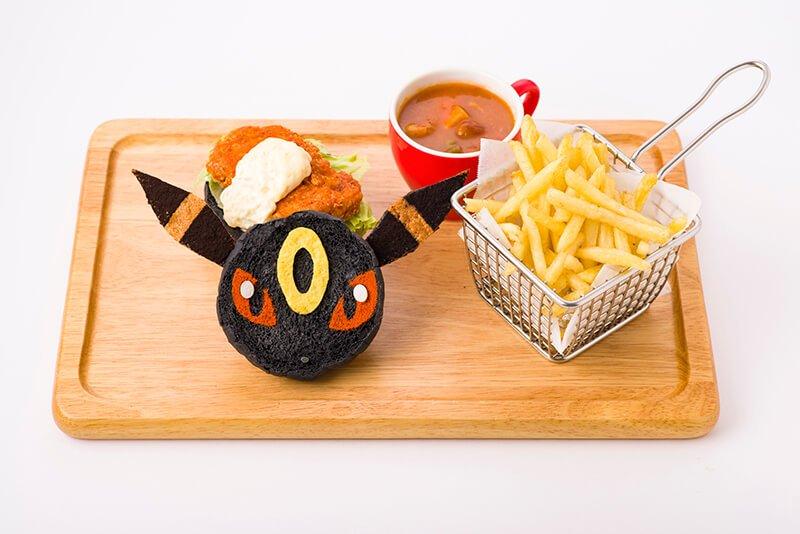 Umbreon Fried Chicken Burger 1,598 yen