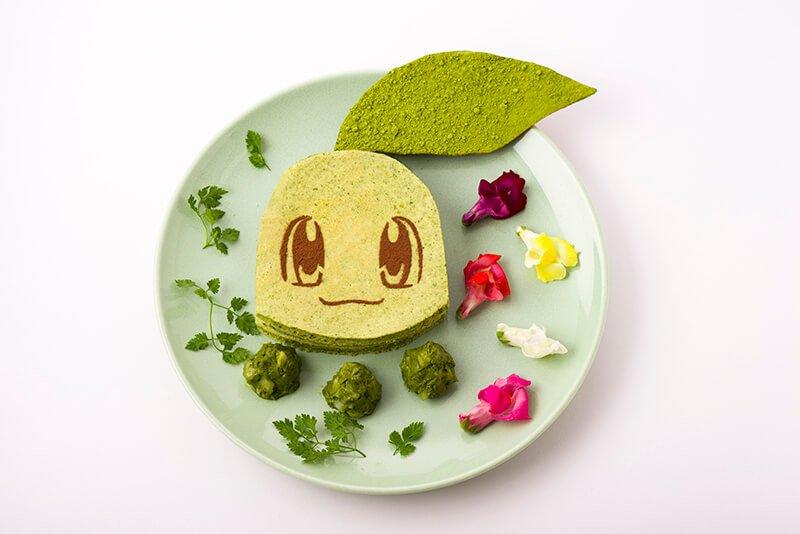 Chikorita Green Pancake Sandwich 1,706 yen