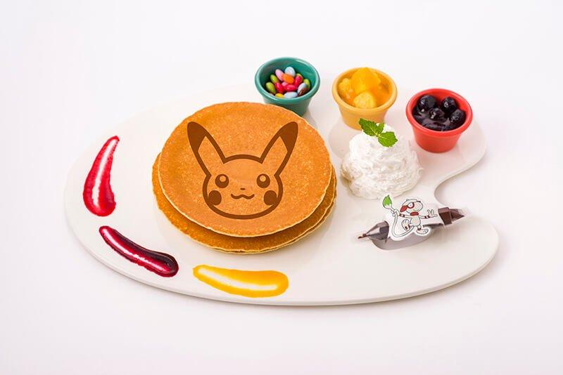 Smeargle's Drawing Pancake 1,490 yen