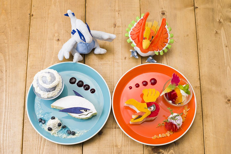 Lugia and Ho-Oh plates