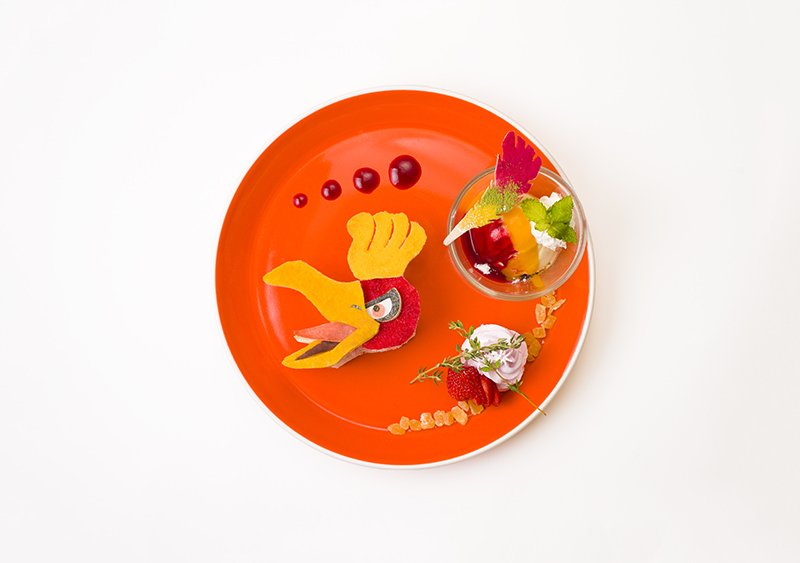 Ho-oh plate