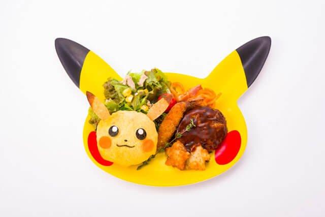 Pikachu's Yokubari Plate (1,738 yen)
