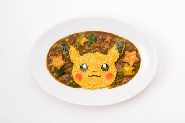 Pikachu's Genki Curry (1,628 yen)