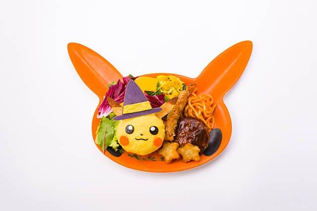 Pikachu's Halloween Yokubari Plate 2019 (1,738 yen)