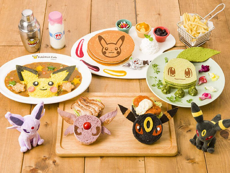 Pokemon Cafe Gold & Silver