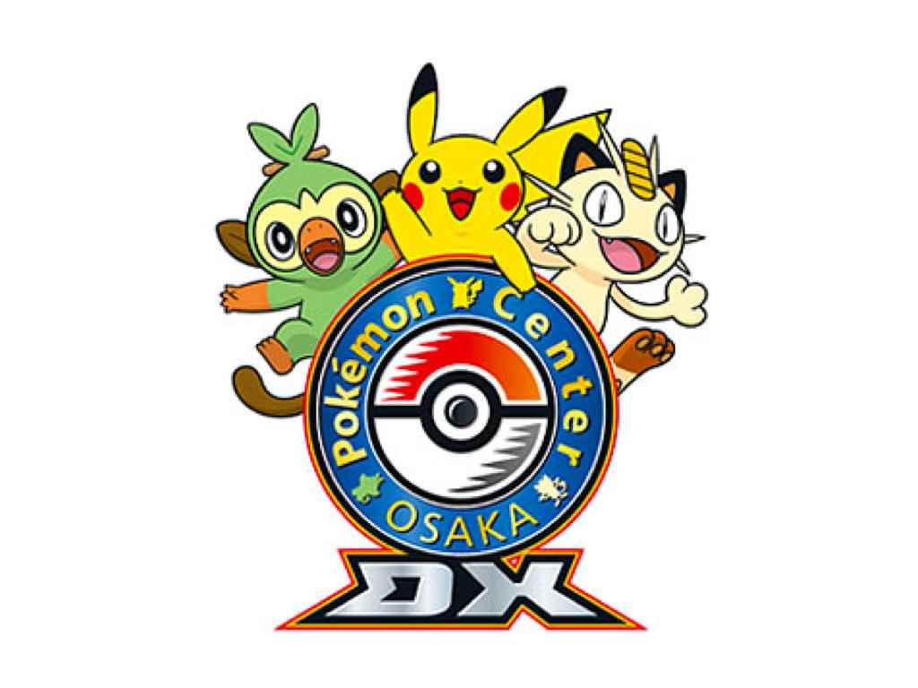 Pokemon Center Osaka DX logo