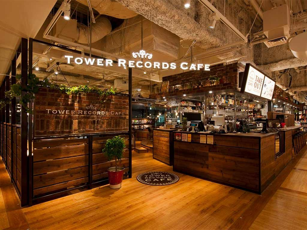 Tower Records Cafe - Shibuya