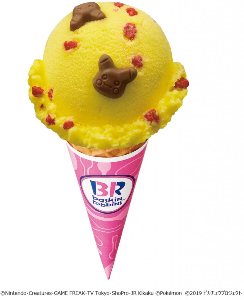 Pikachu ice cream