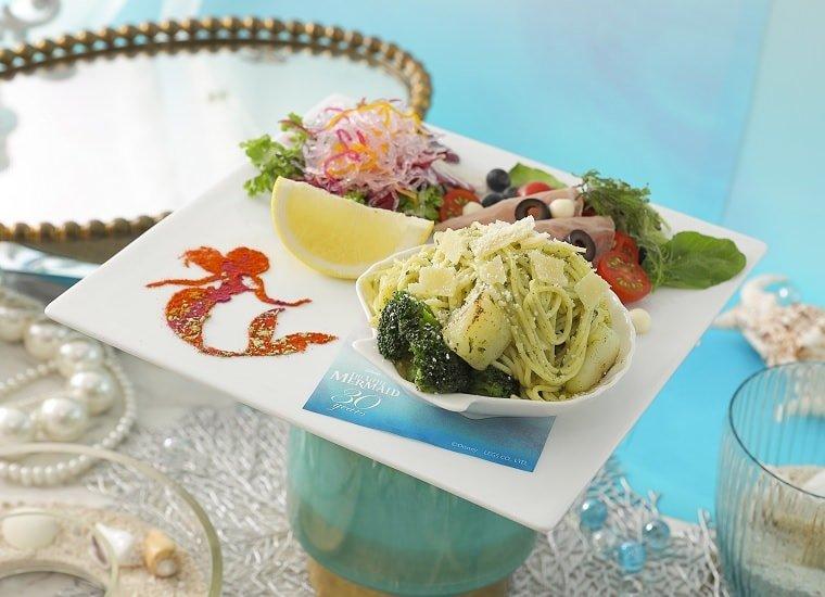 Ariel's Veggie Genovese Pasta 1,990 yen (w/o tax)