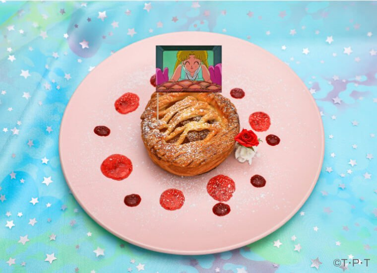 Chibi-usa's First Love!? Apple Pie