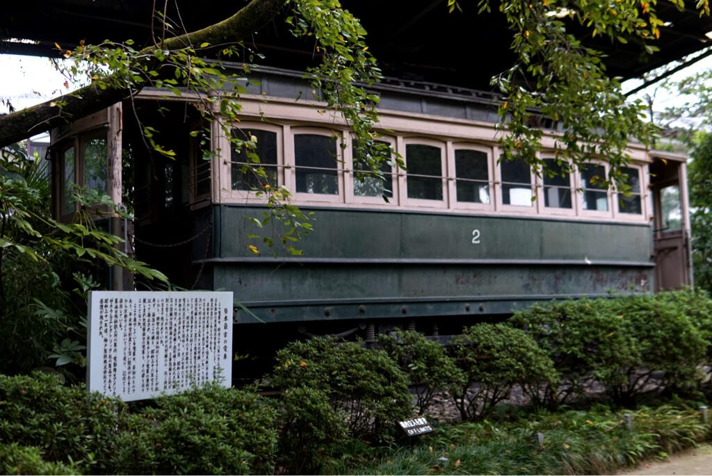 Japan's first electric train