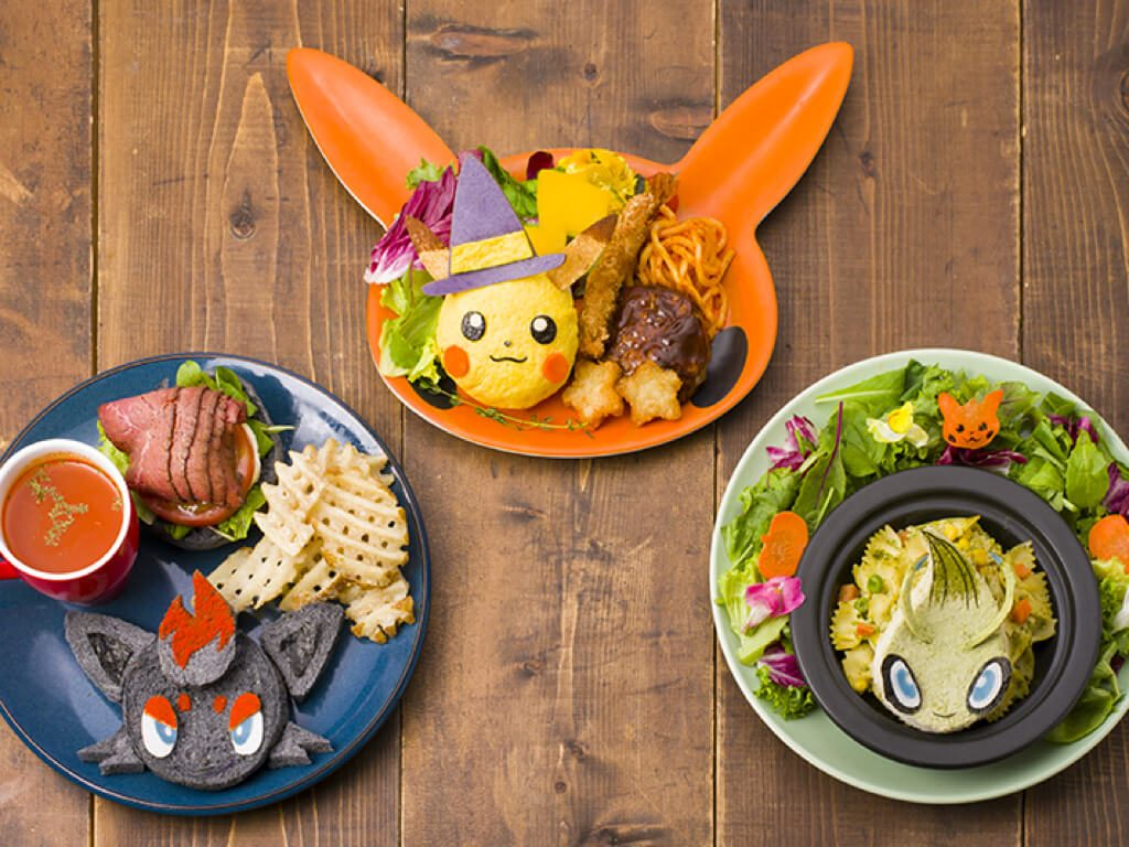Pokemon Cafe Halloween 2019