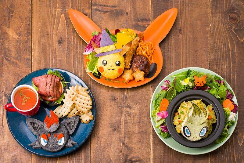 Pokemon Cafe Halloween 2019
