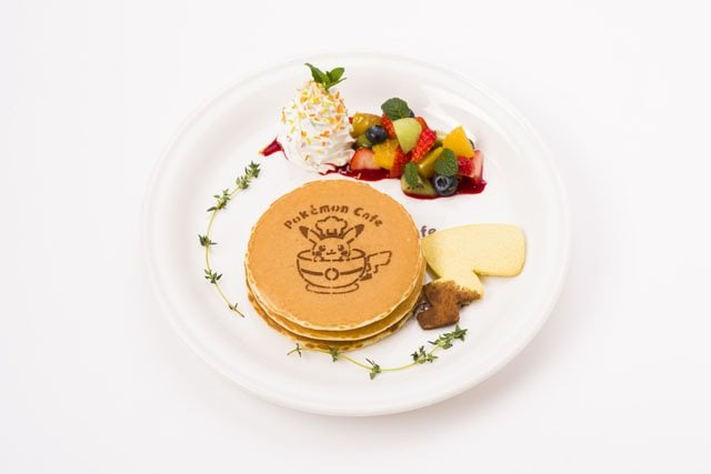 Pokemon Cafe's Fruit Pancakes (1,738 yen)
