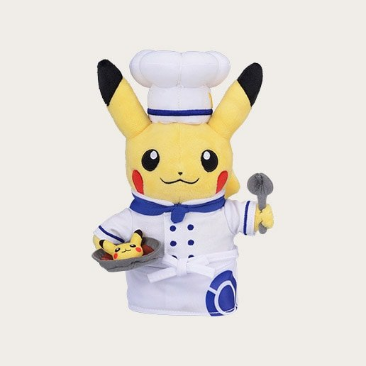 Pokemon Cafe Chef Pikachu