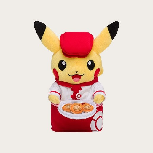 Pokemon Cafe Waitress Pikachu