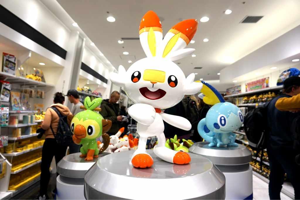Sword & Shield Pokemon at Pokemon Center Tokyo DX Ginza - Tokyo, Japan