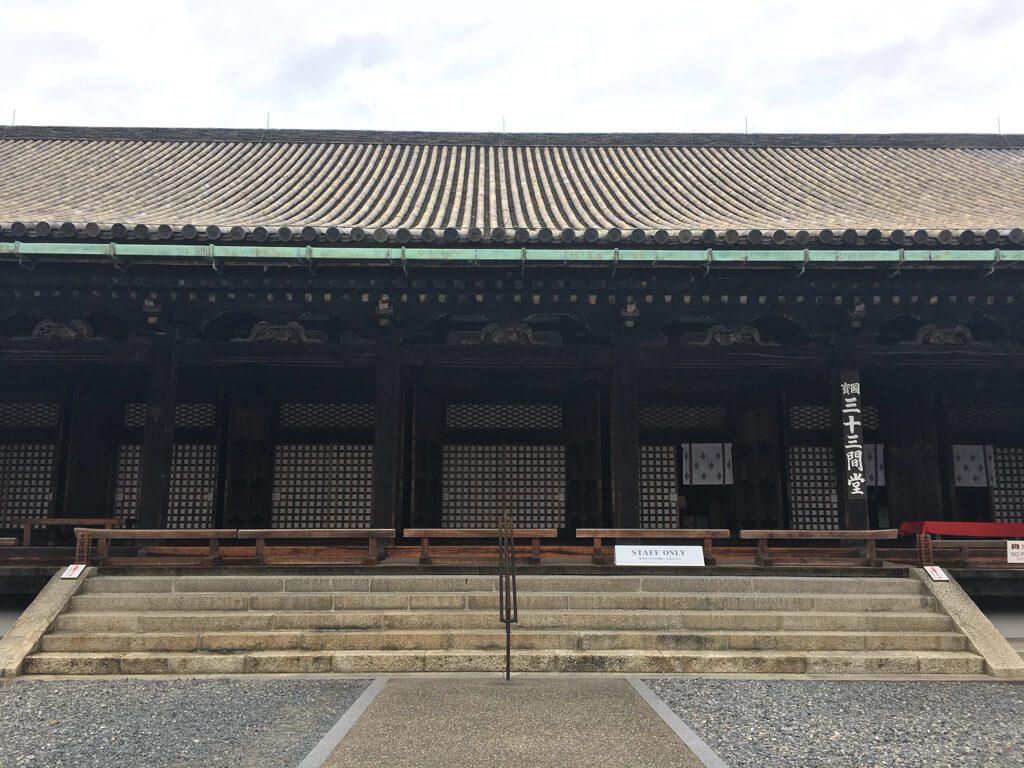 Sanjusangendo Temple building