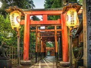 Hanazono Inari Shrine - Ueno, Tokyo