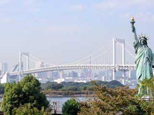 Rainbow Bridge - Odaiba, Tokyo
