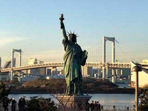 Statue of Liberty Replica - Odaiba, Tokyo