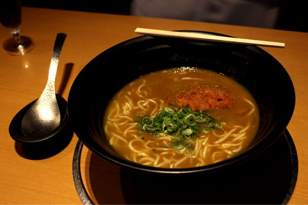 Curry cutlet udon