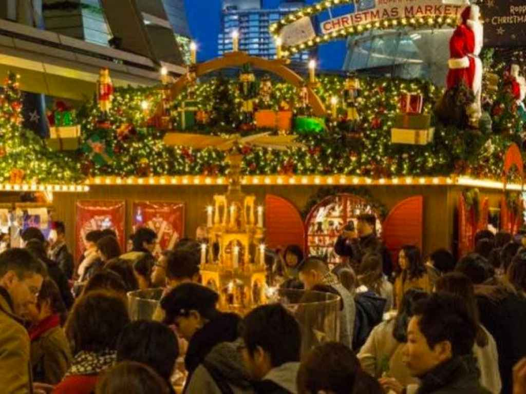 Roppongi German Christmas Market - Tokyo, Japan