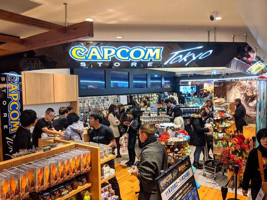 Capcom Store - Shibuya, Tokyo