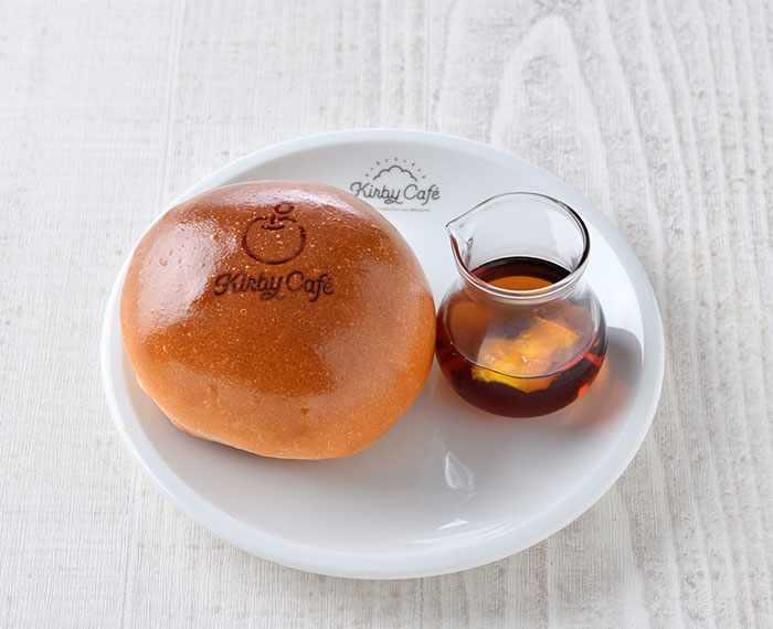 Kirby Cafe Bread & Apple Tea (280 yen) - Kirby Cafe - Tokyo, Japan