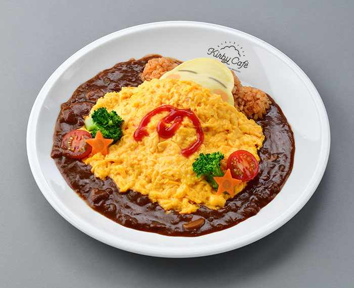 Waddle Dee's Nap Time Omelet Rice (1,680 yen) - Kirby Cafe - Tokyo, Japan