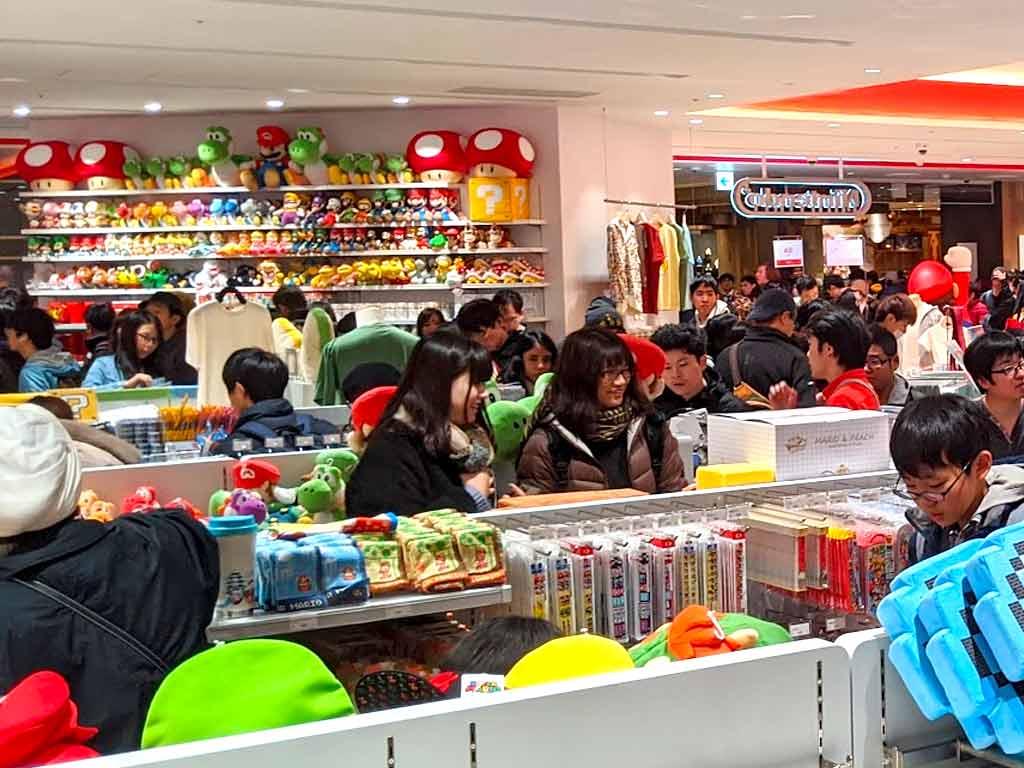 Official Nintendo Store - Shibuya Tokyo