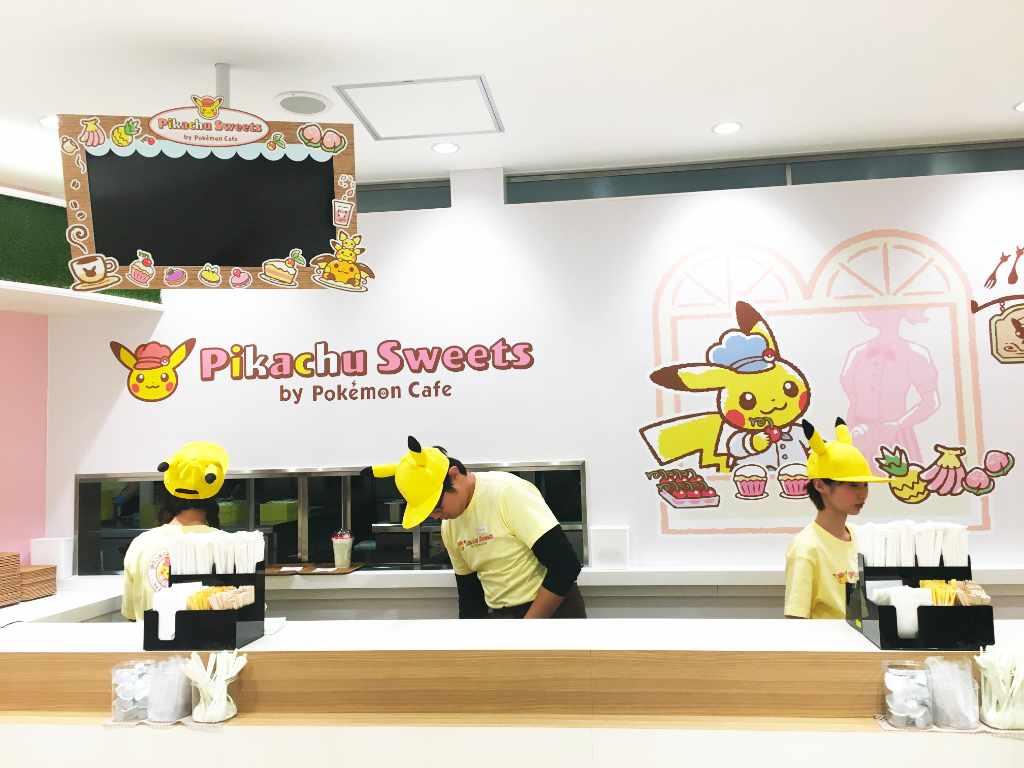 Pikachu Sweets interior - Tokyo, Japan