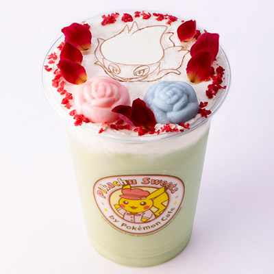Flowery Macha & Cream Roserade Tea (Ice)