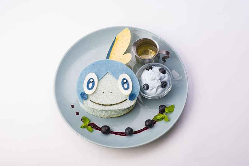 Sobble's Very Berry Fruits Sandwich (1,848 yen)
