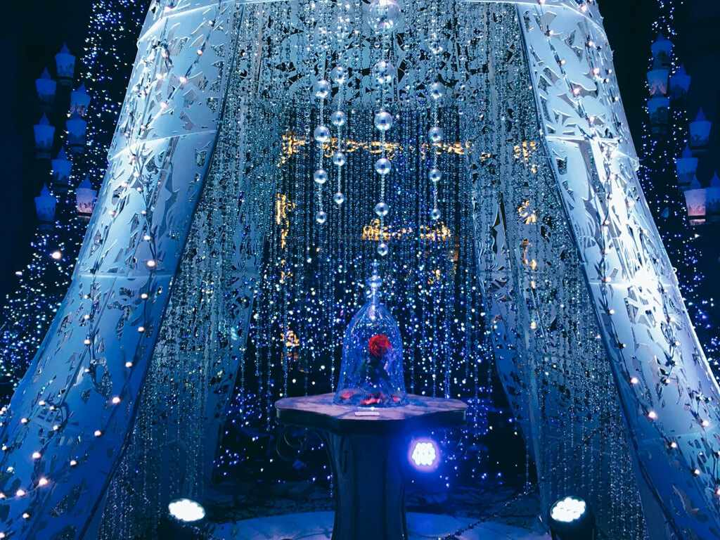 Caretta Illuminations 2017 - Beauty and the Beast - Tokyo, Japan