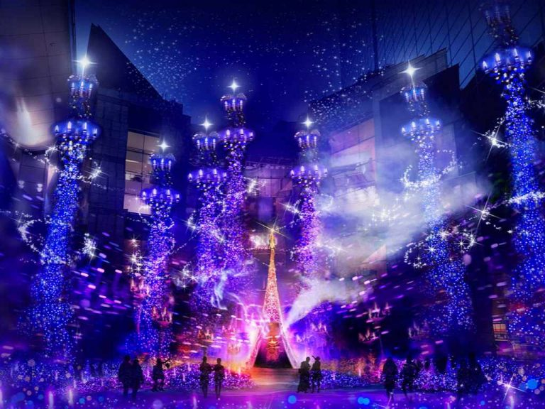 Caretta Illuminations 2019 - Aladdin - Tokyo, Japan