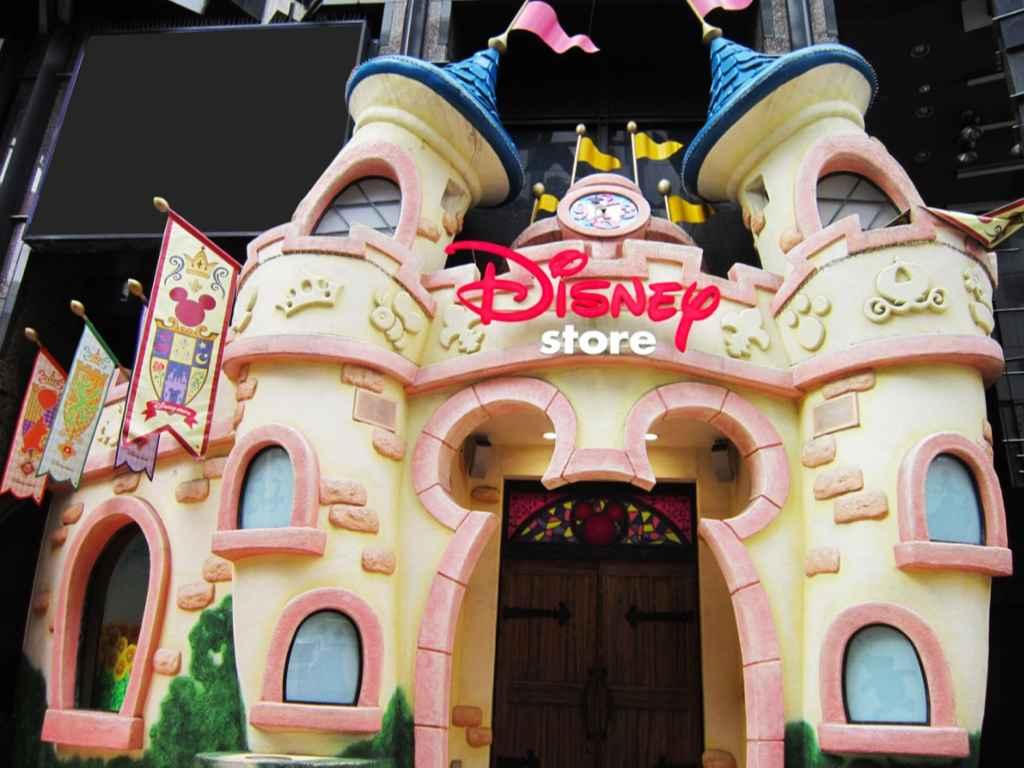 Disney Store Shibuya Koen Dori - Tokyo, Japan