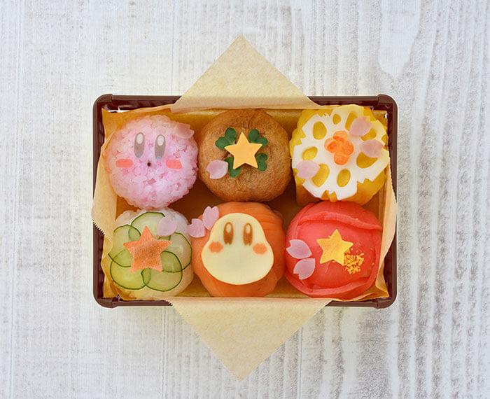 Kirby Cafe Tokyo Spring Picnic Fair Temari Sushi with Bento Box