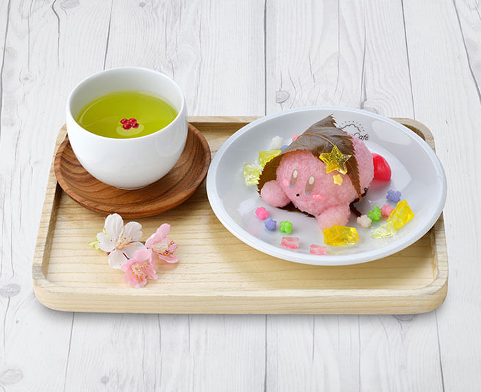 Kirby Cafe Tokyo Spring Picnic Fair Tea and Sweets Set