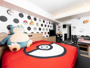 Pokemon Room - Bed