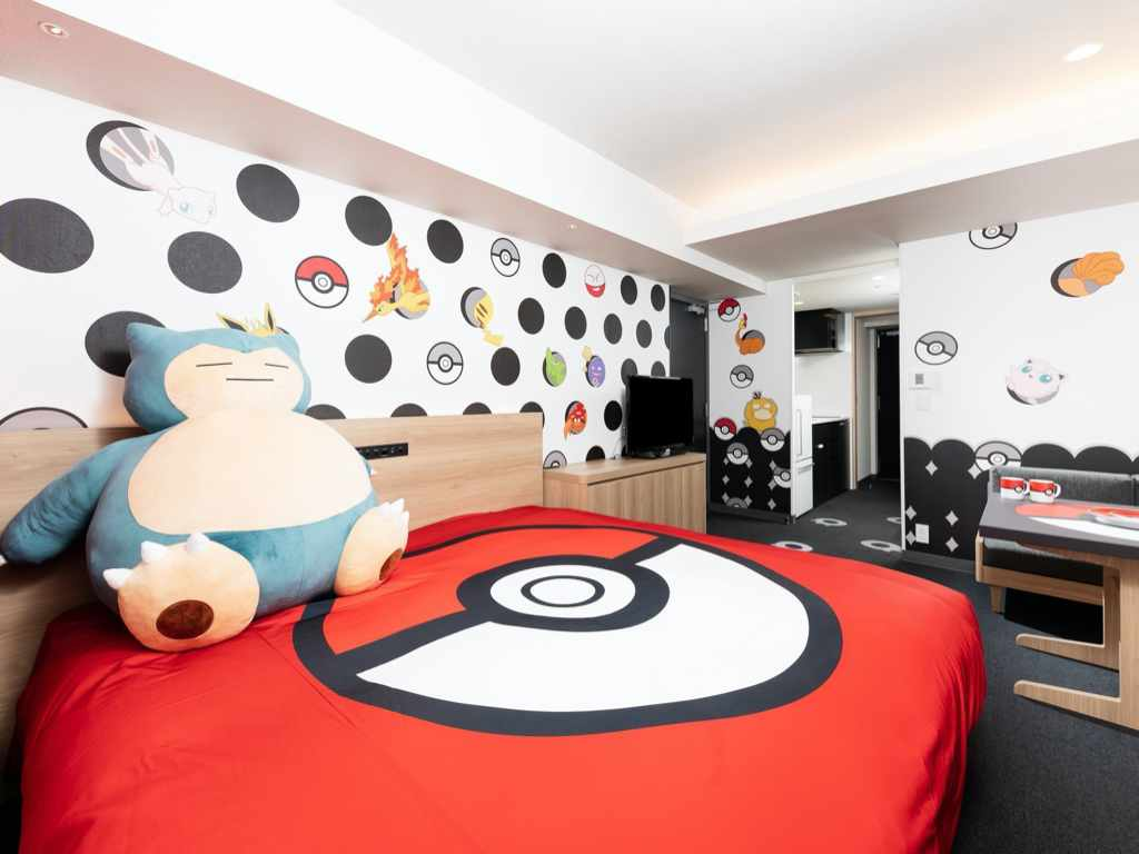 Pokemon Room - Bed