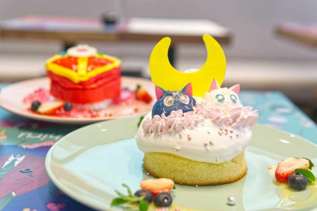 Sailor Moon Cafe 2019 - Desserts
