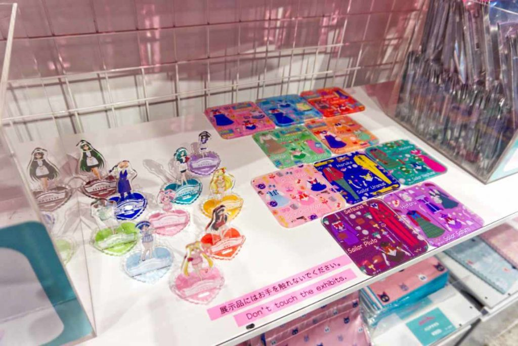 Sailor Moon Cafe 2019 - Merch corner