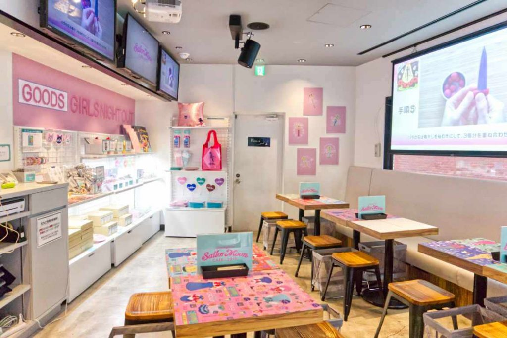 Sailor Moon Cafe 2019 - Omotesando - Tokyo, Japan