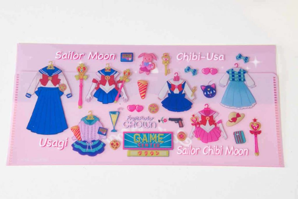 Sailor Moon Cafe 2019 Ticket holder