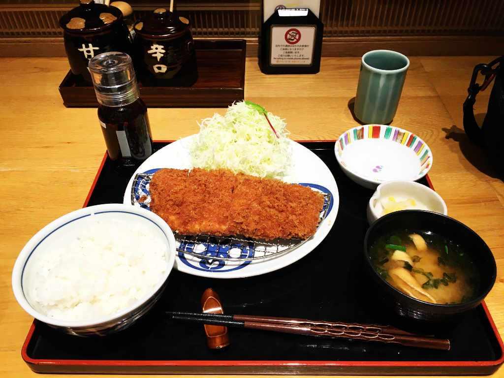Tonkatsu Maisen - Pork cutlet roast teishoku